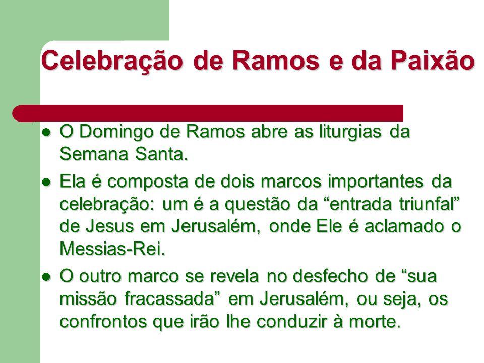 Celebração de Ramos e da Paixão