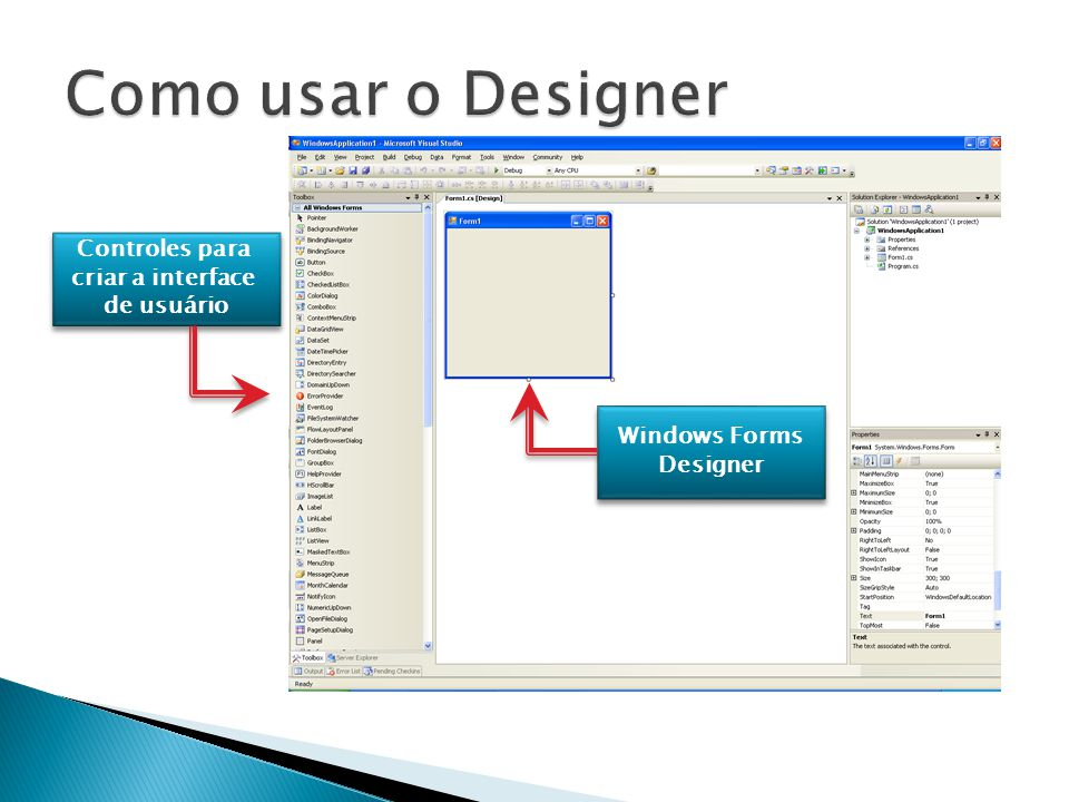 Windows Forms Designer