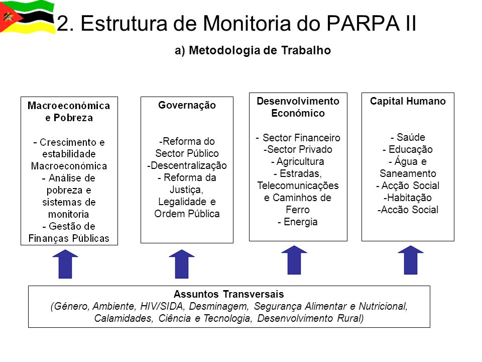 2. Estrutura de Monitoria do PARPA II