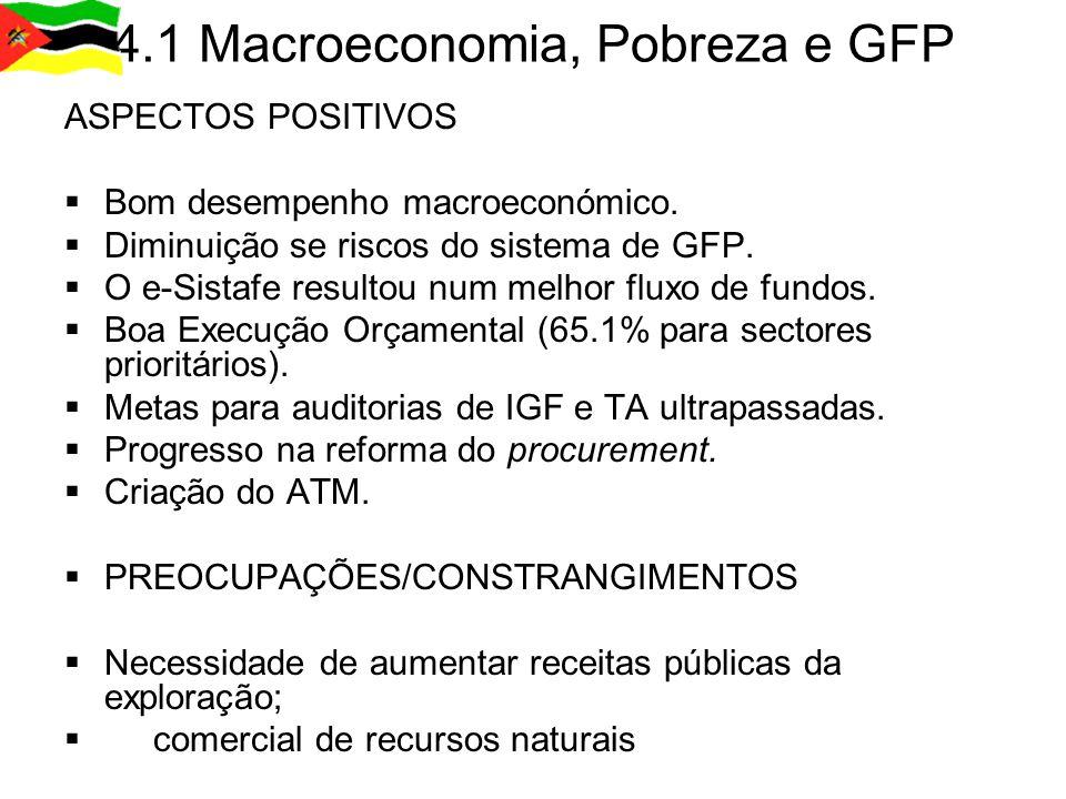 4.1 Macroeconomia, Pobreza e GFP