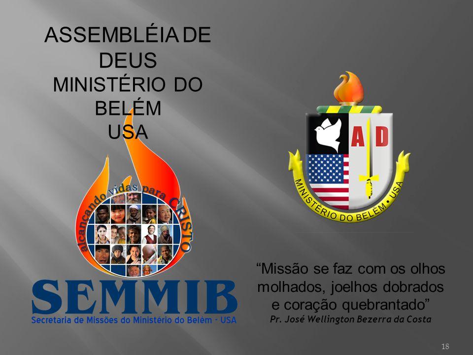 Pr. José Wellington Bezerra da Costa