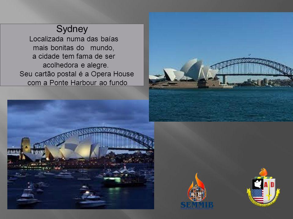 Sydney Localizada numa das baías mais bonitas do mundo,