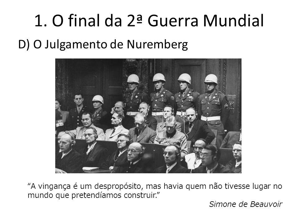 1. O final da 2ª Guerra Mundial