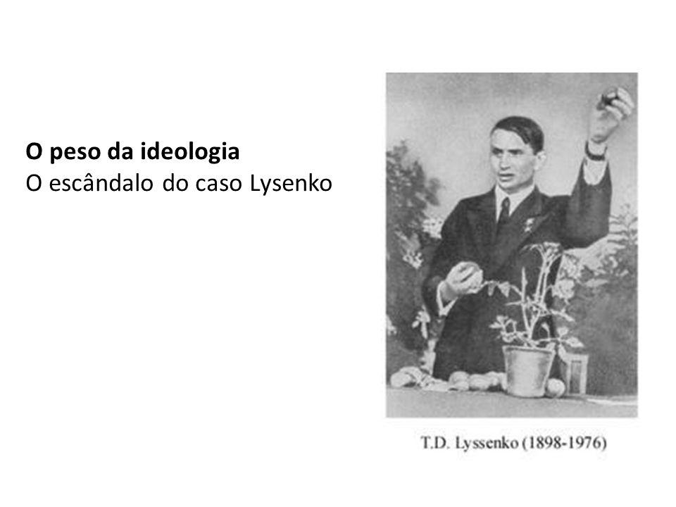 O escândalo do caso Lysenko