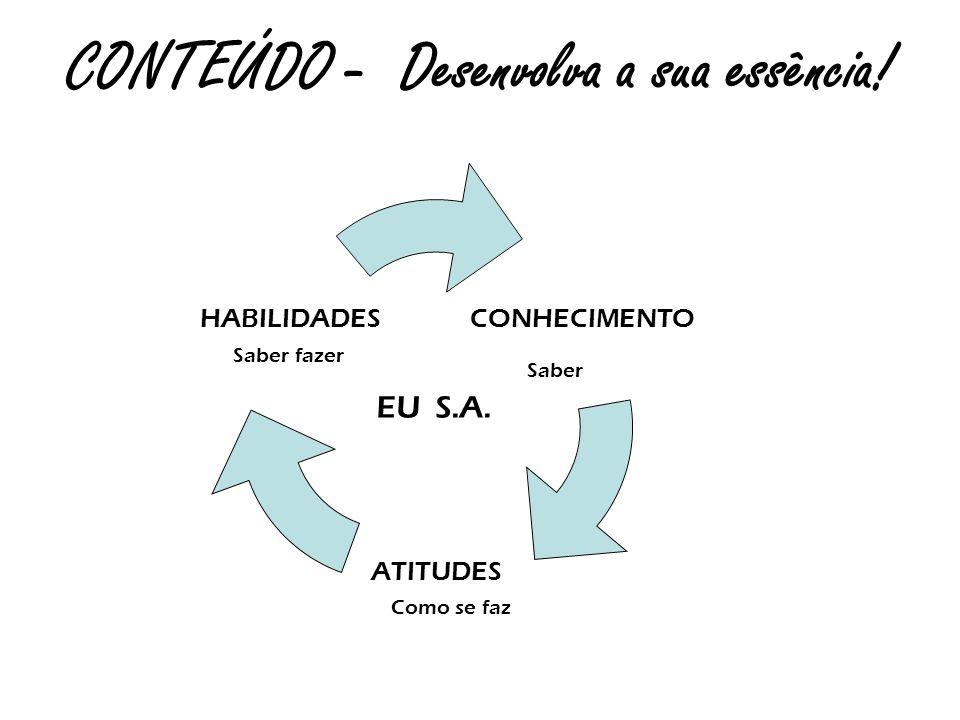 CONTEÚDO - Desenvolva a sua essência!