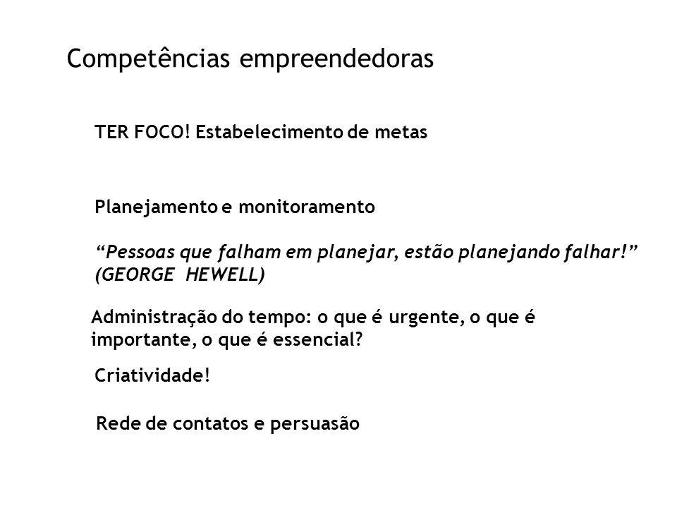 Competências empreendedoras