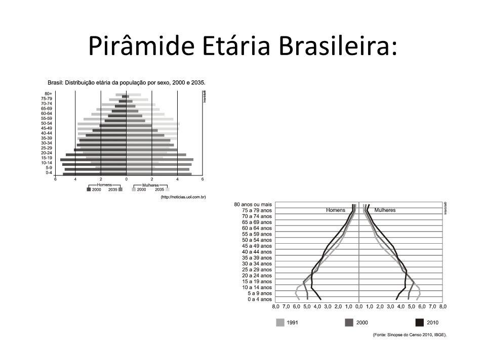 Pirâmide Etária Brasileira: