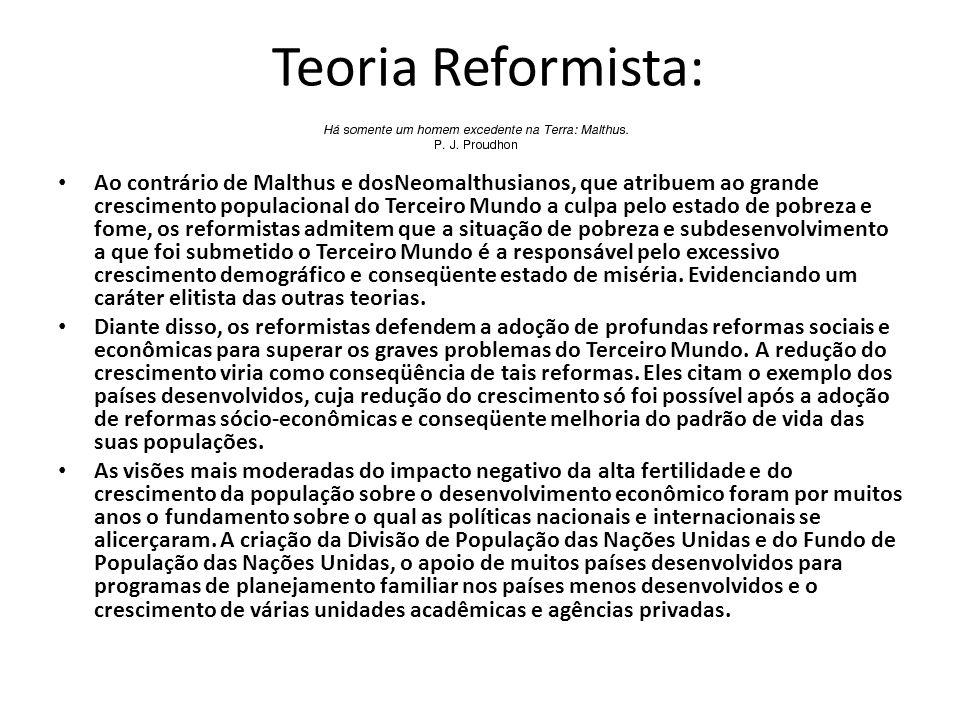 Teoria Reformista: