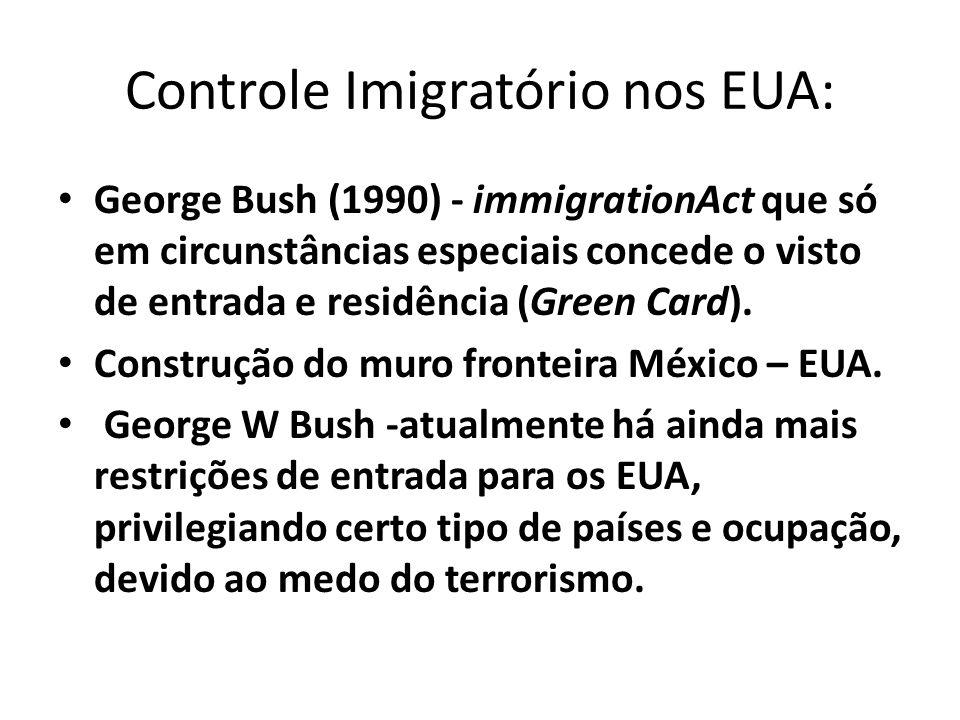 Controle Imigratório nos EUA: