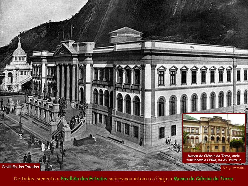 Museu de Ciência da Terra, onde funcionava a CPRM, na Av. Pasteur