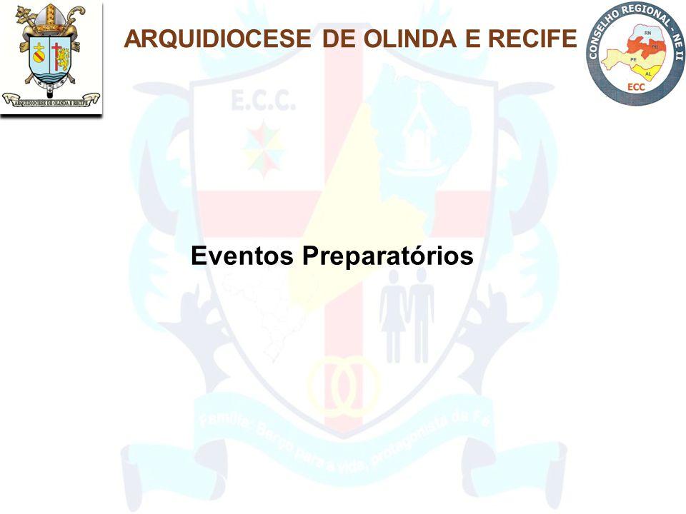 ARQUIDIOCESE DE OLINDA E RECIFE Eventos Preparatórios