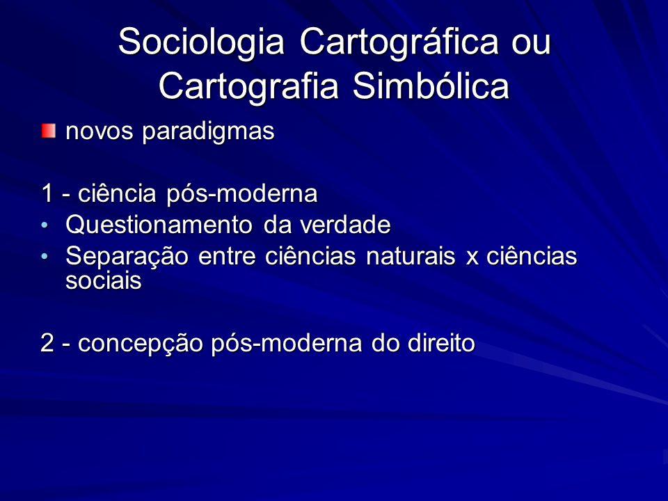 Sociologia Cartográfica ou Cartografia Simbólica