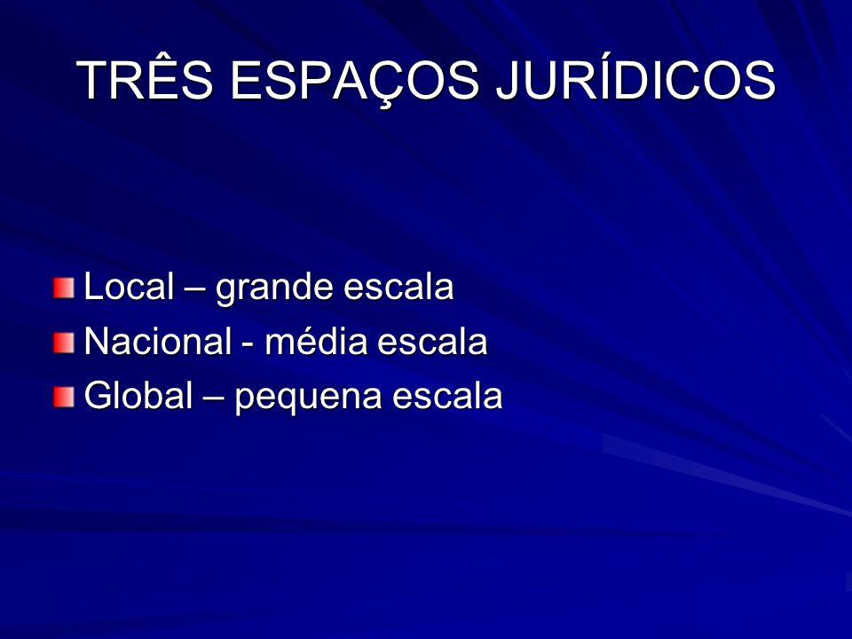 TRÊS ESPAÇOS JURÍDICOS