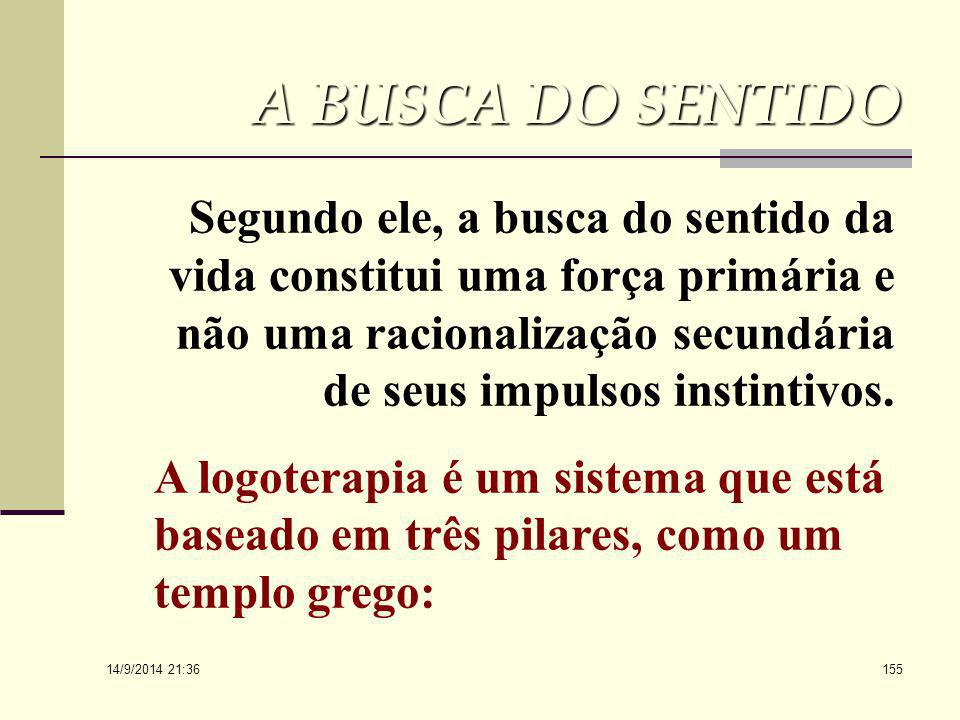 A BUSCA DO SENTIDO