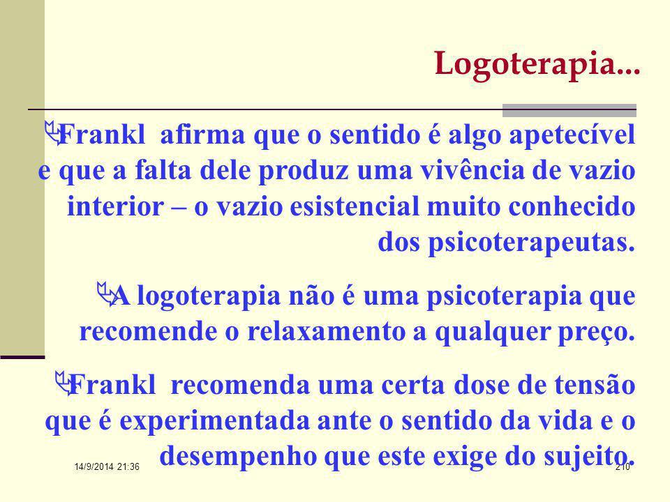 Logoterapia...