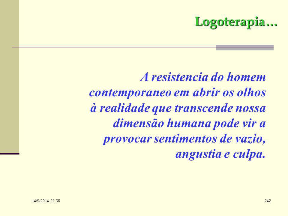 Logoterapia…