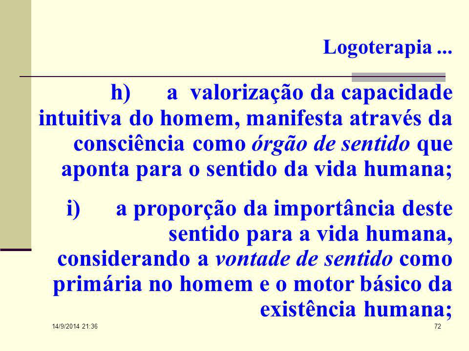 Logoterapia ...