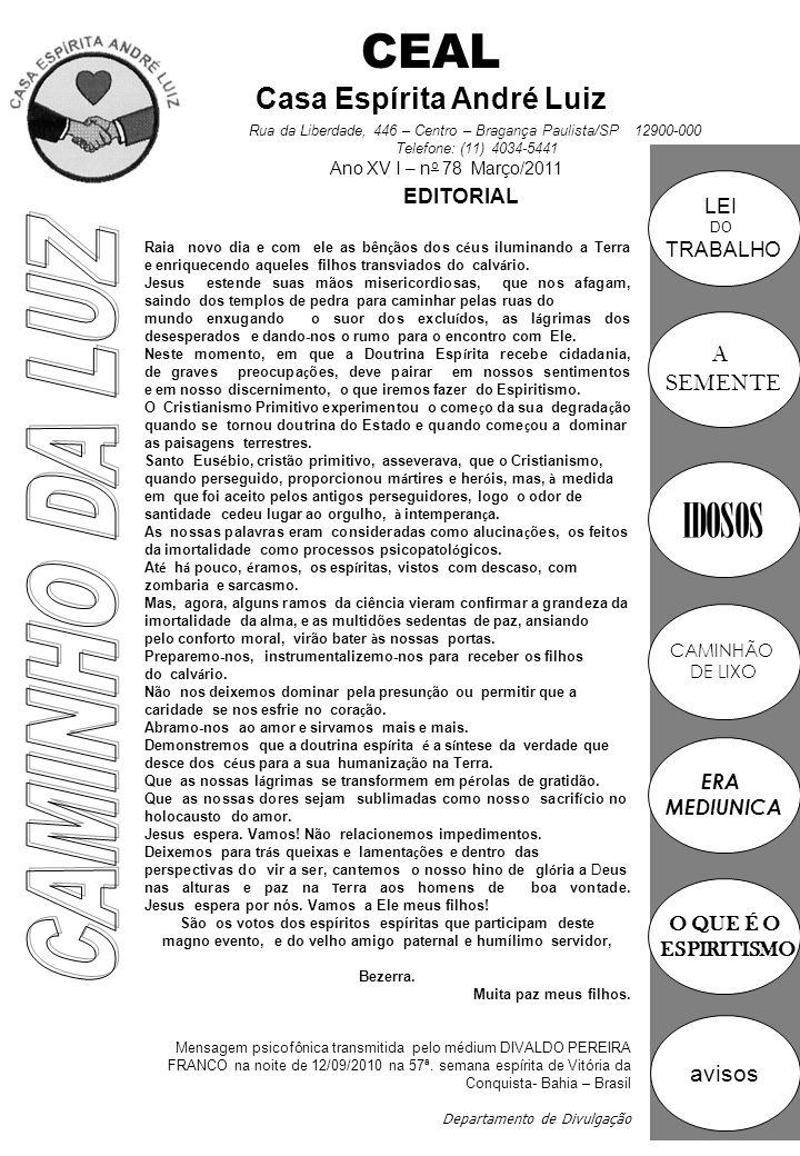 CEAL Casa Espírita André Luiz
