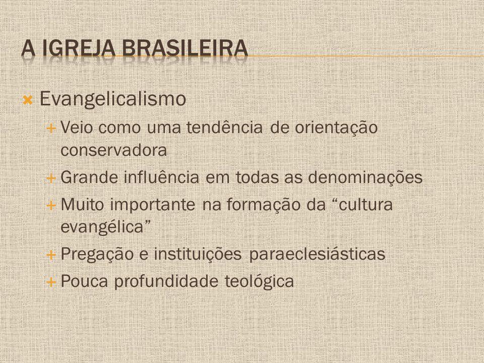 A igreja brasileira Evangelicalismo