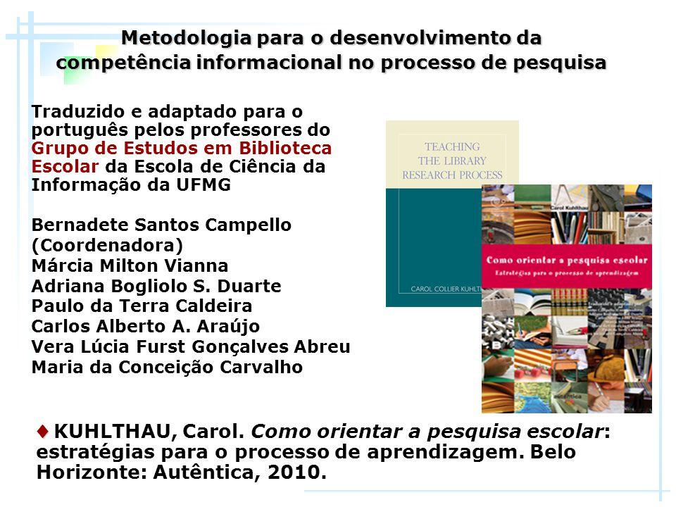 Metodologia para o desenvolvimento da
