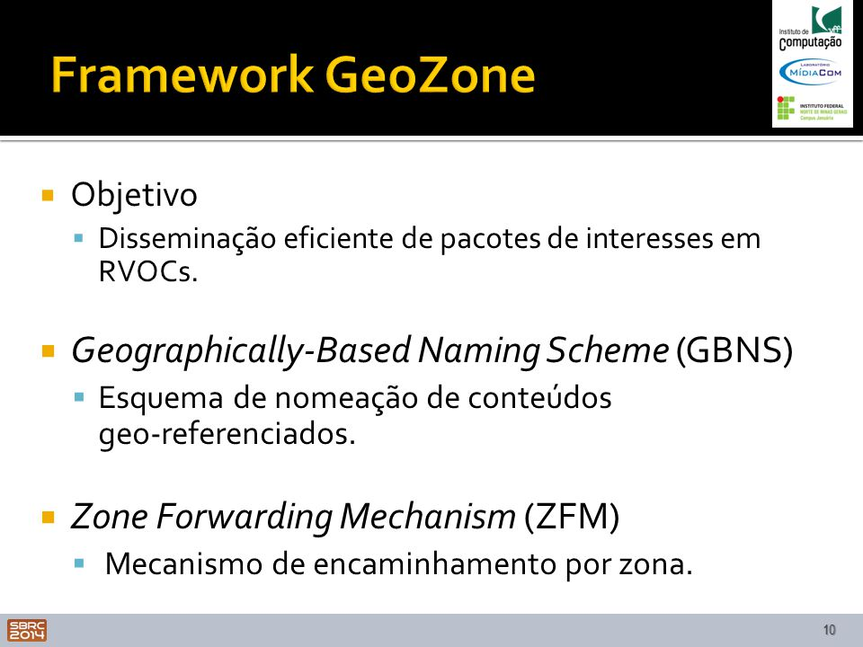 Framework GeoZone Geographically-Based Naming Scheme (GBNS)