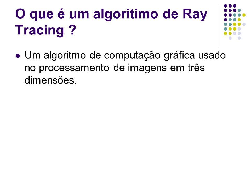 O que é um algoritimo de Ray Tracing