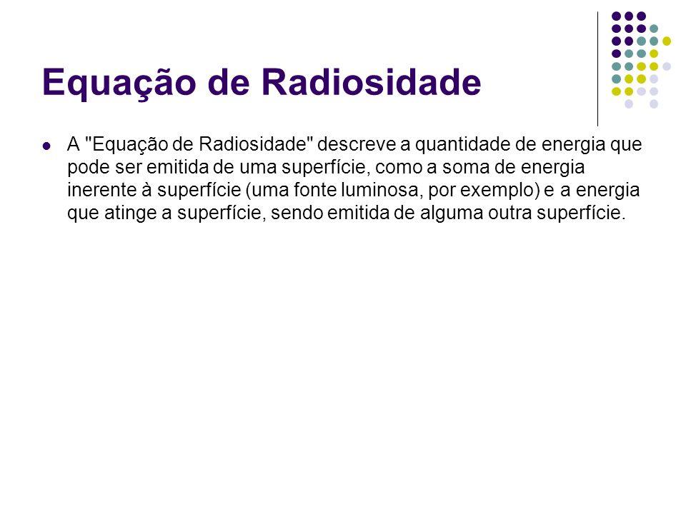 Equação de Radiosidade