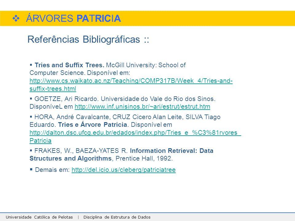 Referências Bibliográficas ::