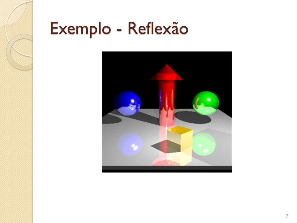 Exemplo - Reflexão