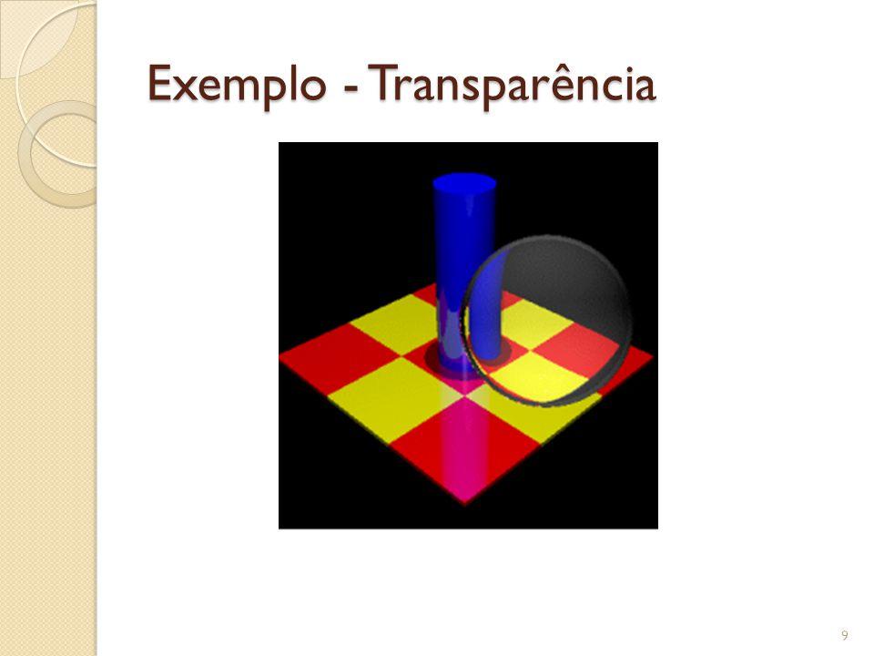 Exemplo - Transparência
