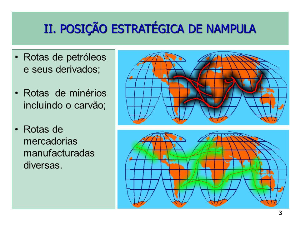 II. POSIÇÃO ESTRATÉGICA DE NAMPULA
