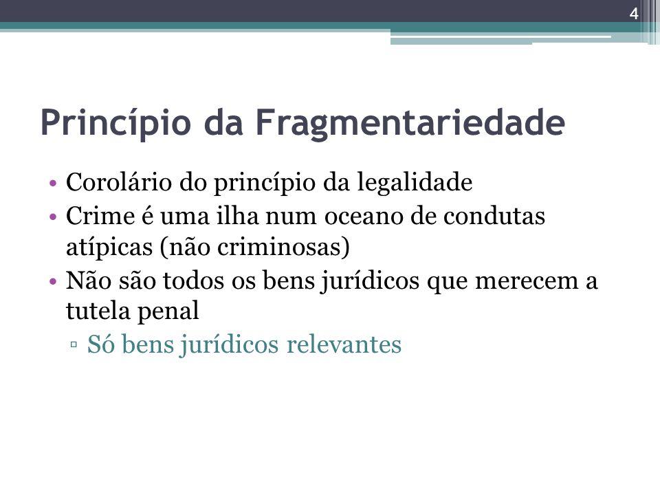 Princípio da Fragmentariedade