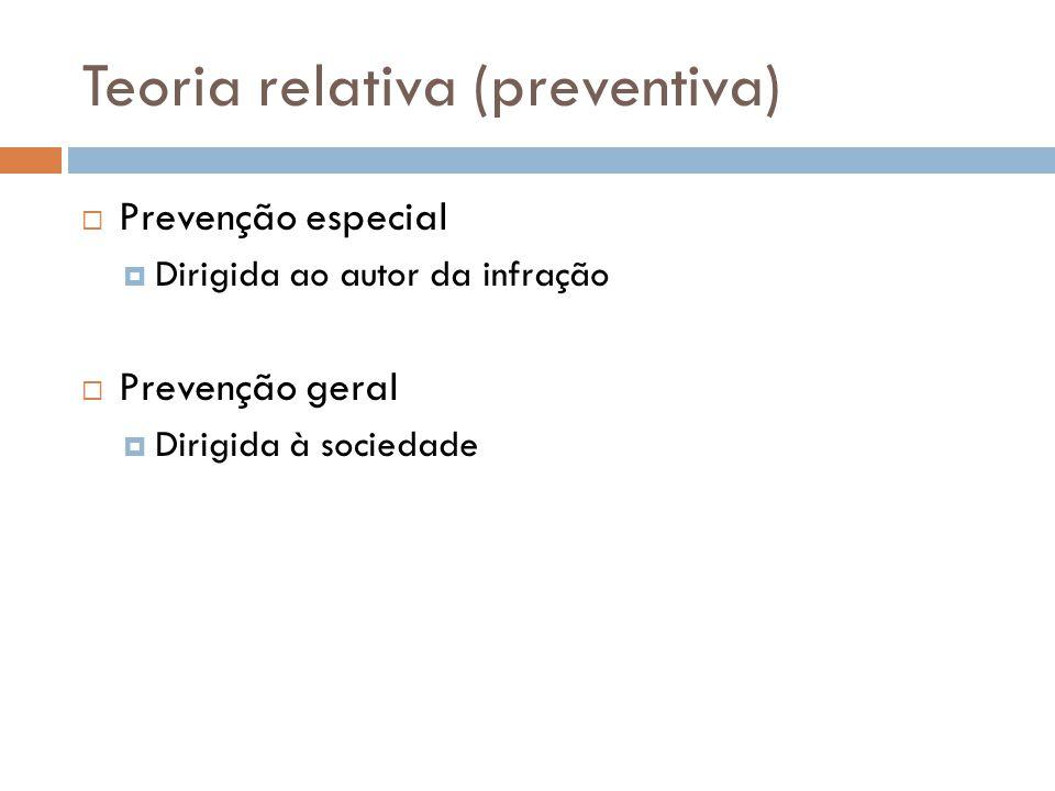 Teoria relativa (preventiva)