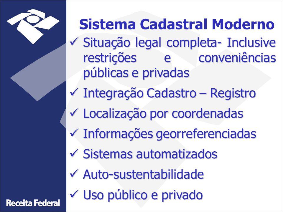 Sistema Cadastral Moderno