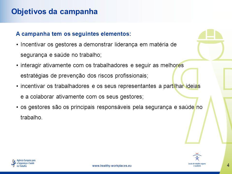 Objetivos da campanha A campanha tem os seguintes elementos:
