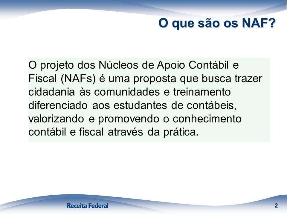 O que são os NAF
