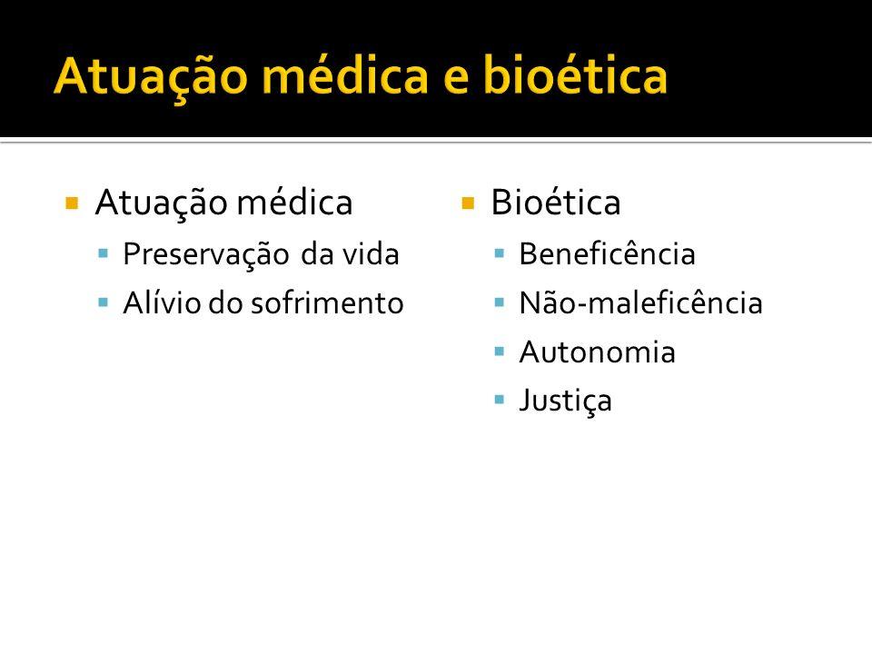 Atuação médica e bioética