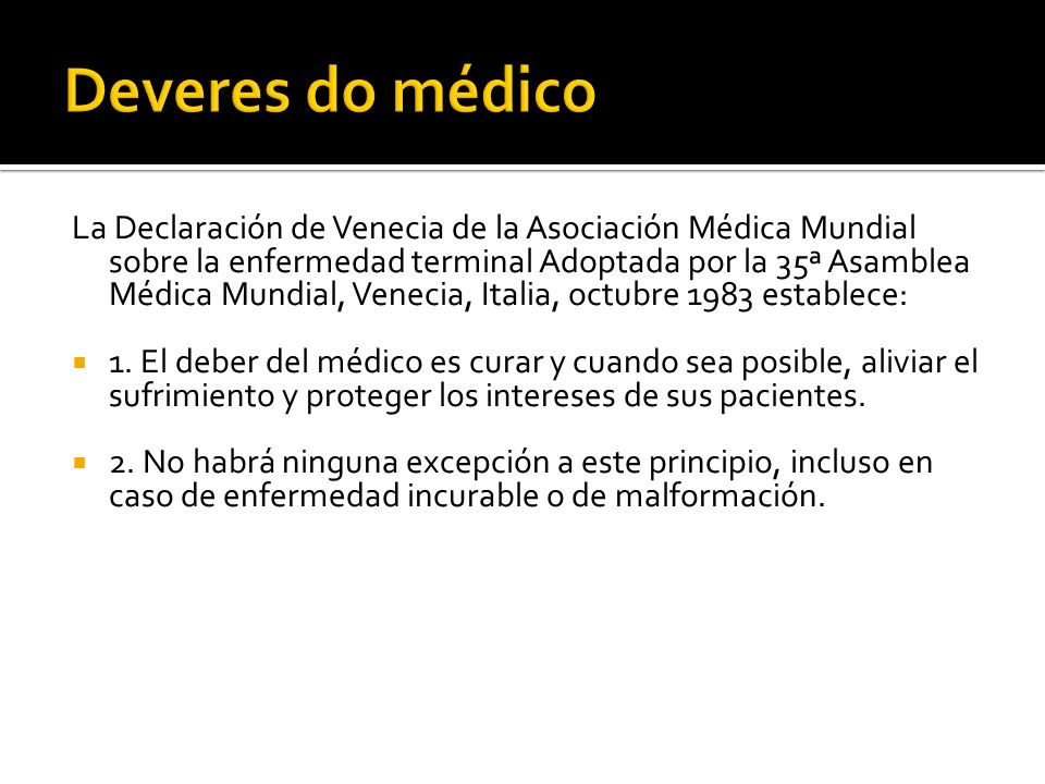 Deveres do médico