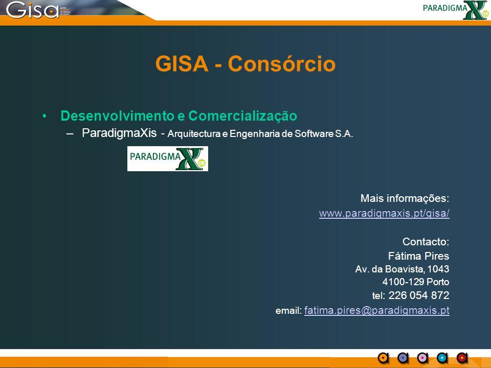 GISA - Consórcio Desenvolvimento e Comercialização