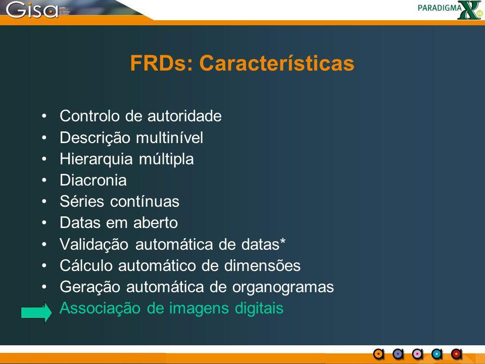 FRDs: Características