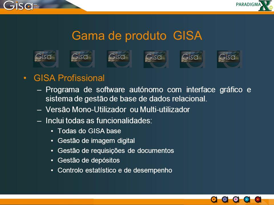 Gama de produto GISA GISA Profissional