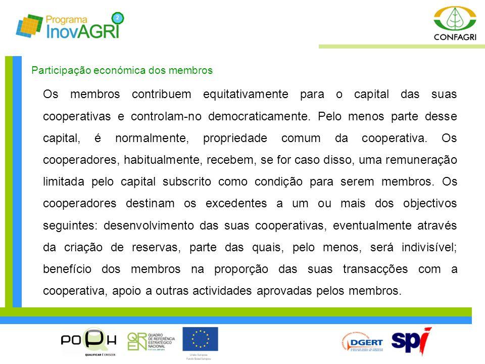 Participação económica dos membros