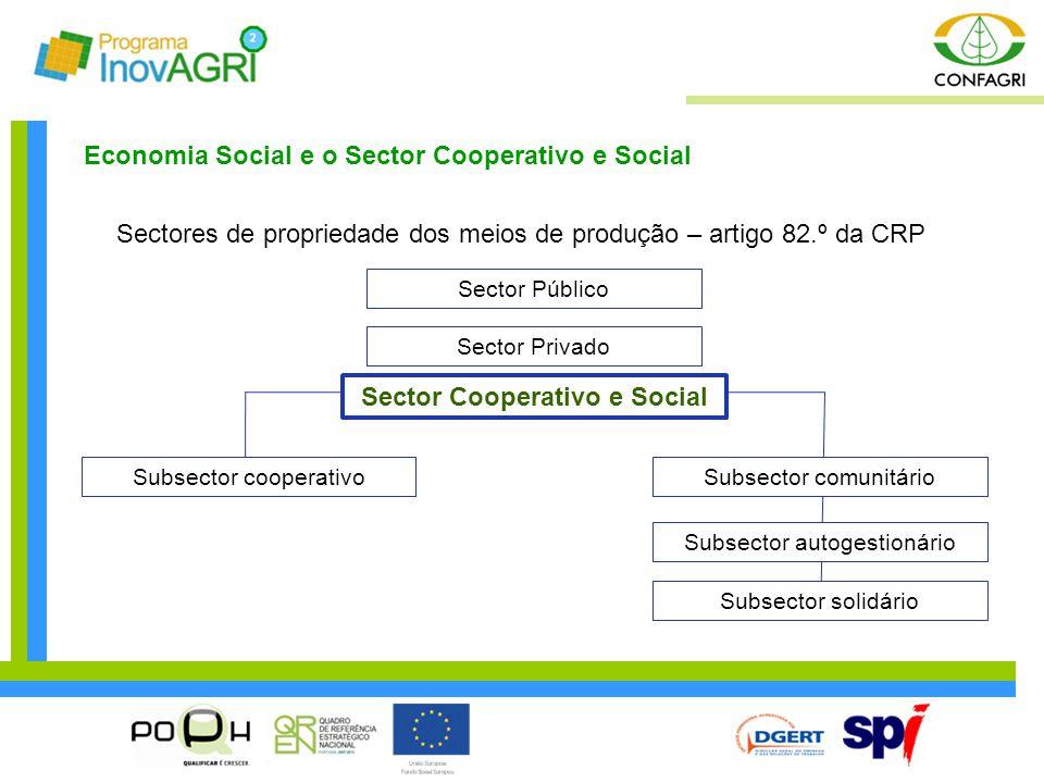 Sector Cooperativo e Social