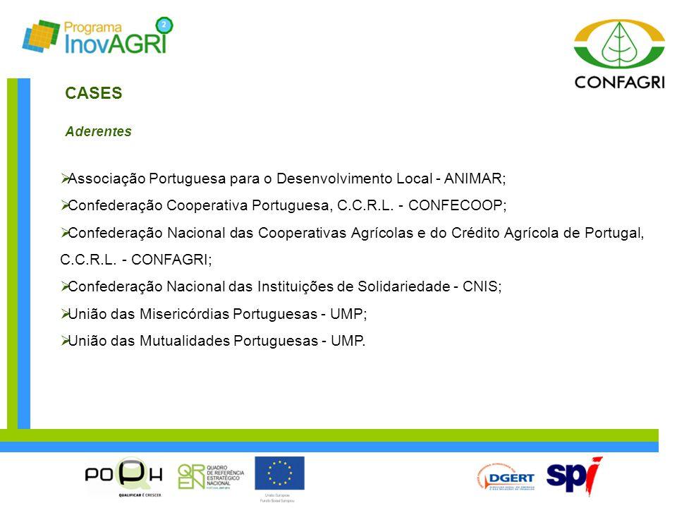CASES Associação Portuguesa para o Desenvolvimento Local - ANIMAR;