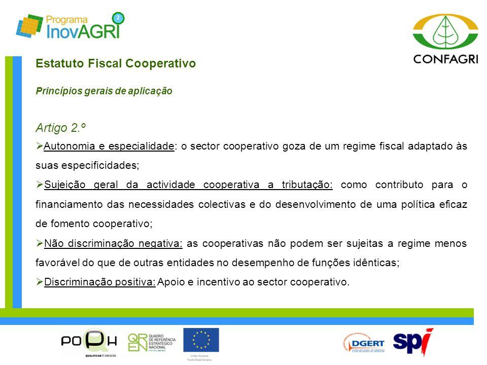 Estatuto Fiscal Cooperativo