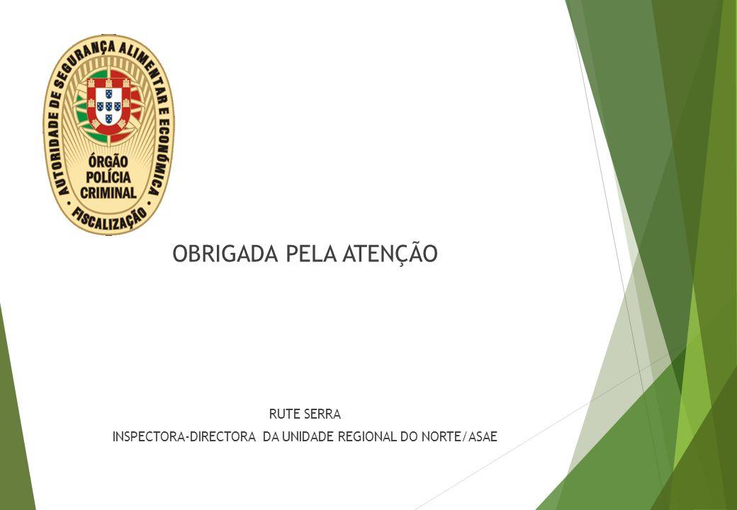 INSPECTORA-DIRECTORA DA UNIDADE REGIONAL DO NORTE/ASAE