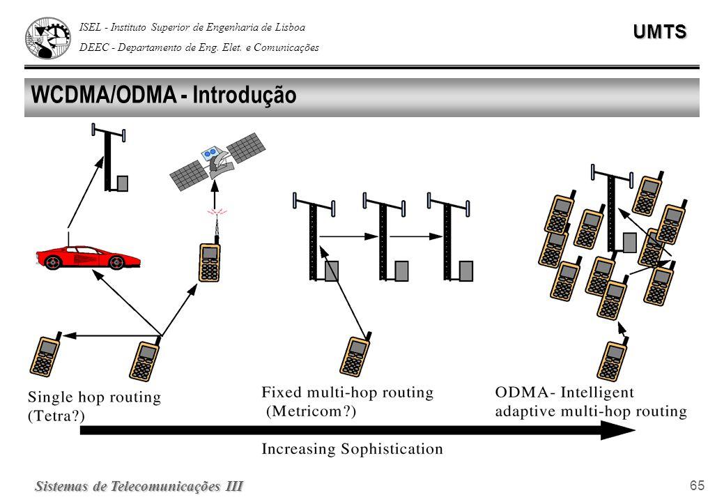 WCDMA/ODMA - Introdução