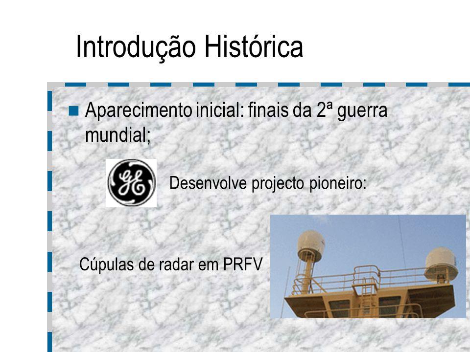 Introdução Histórica Aparecimento inicial: finais da 2ª guerra mundial; Desenvolve projecto pioneiro:
