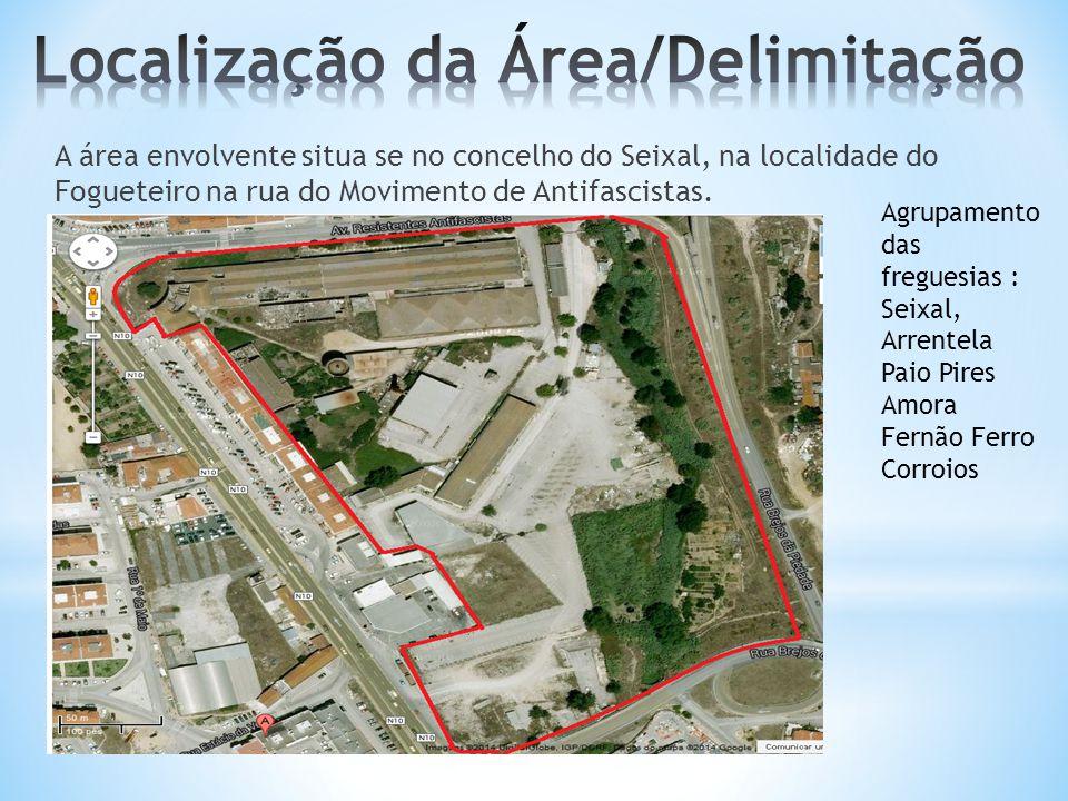 Localização da Área/Delimitação