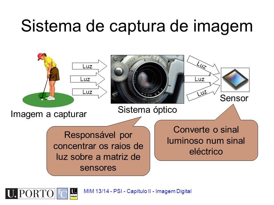 Sistema de captura de imagem